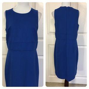 NWT! Ann Taylor blue dress